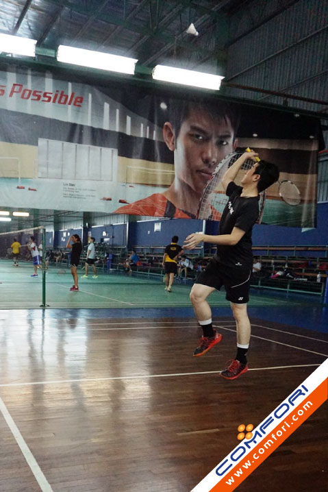 Comfori Badminton Tournament 2015