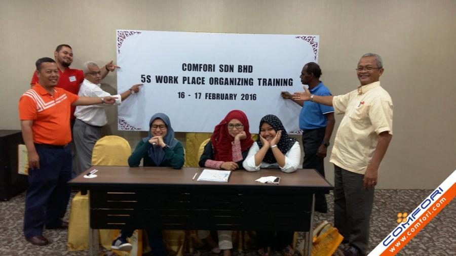 5s Work Place Organization Training - Feb 2016